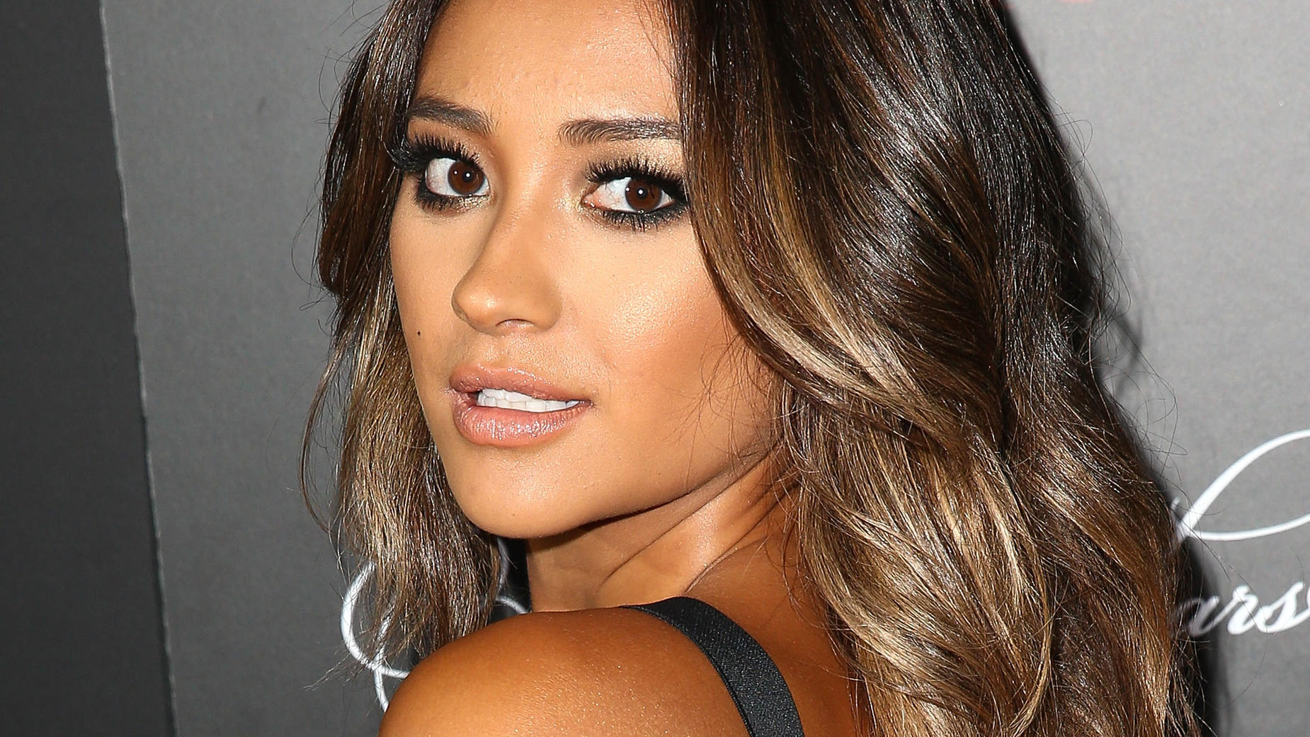 HOLLYWOOD, CA - MAY 31:  Actress Shay Mitchell attends the 'Pretty Little Liars' 100th episode celebration at W Hollywood on May 31, 2014 in Hollywood, California.  (Photo by Imeh Akpanudosen/Getty Images)