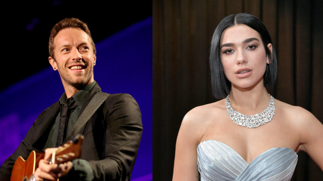Chris Martin, Dua Liopa