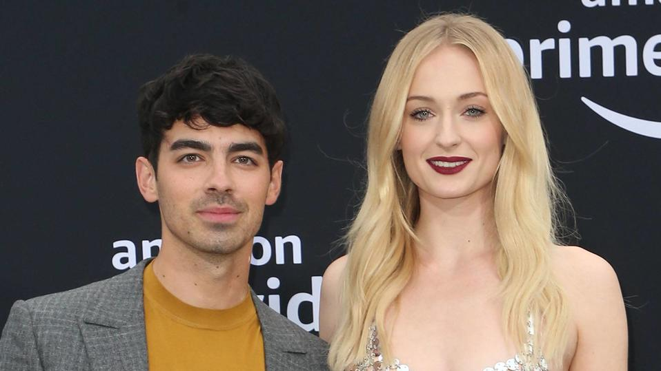 June 4, 2019 - La, United States of America - Joe Jonas and Sophie Turner arriving at the premiere of Chasing Happiness at the Regency Bruin Theatre on June 3 2019 in Los Angeles La United States of America *** June 4, 2019 La, United States of Ameri