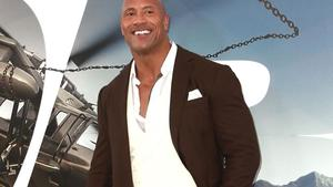 Dwayne 'The Rock' Johnson: Stolze Mutter