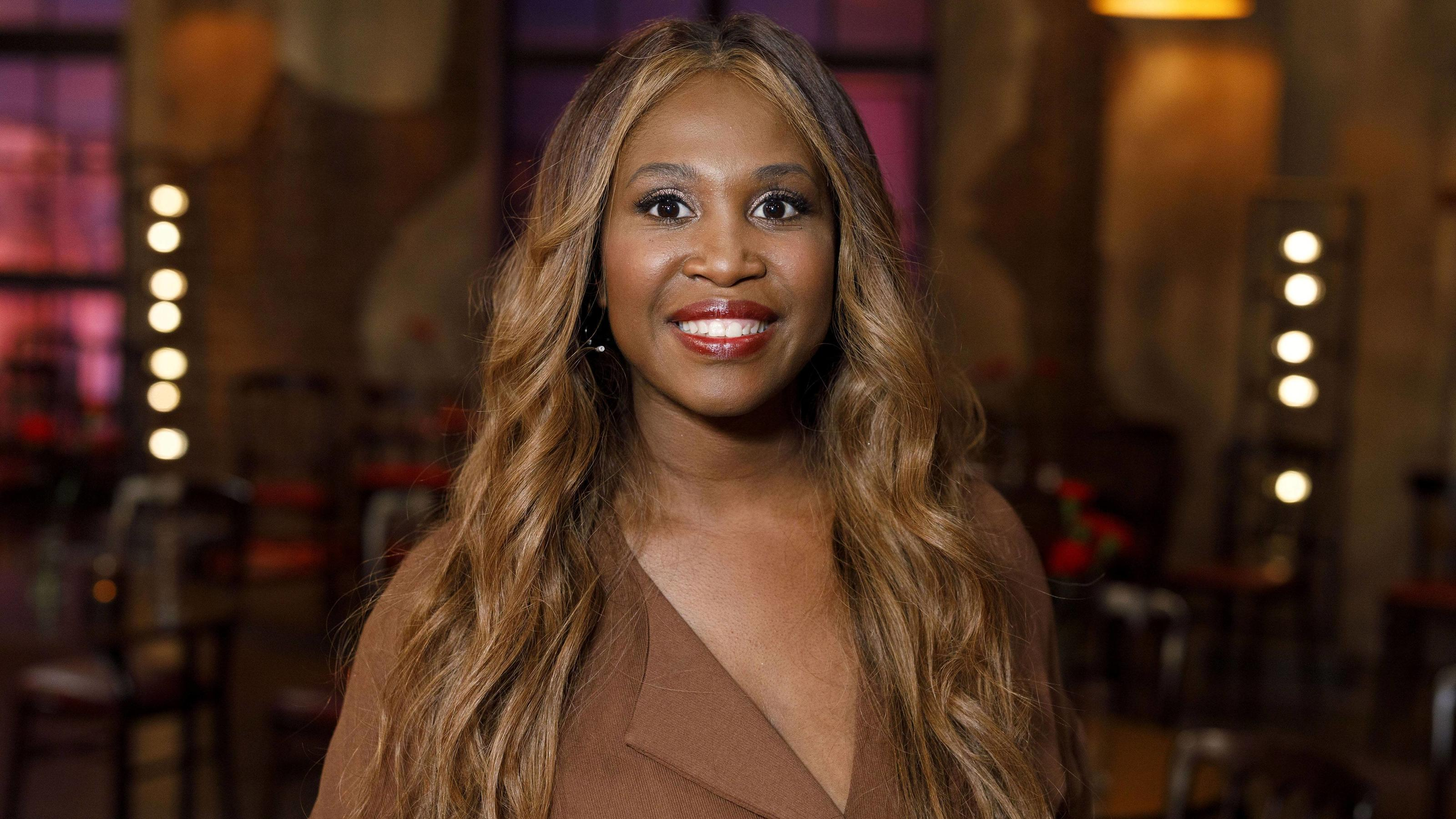 Motsi Mabuse bei der Aufzeichnung der WDR-Talkshow Kölner Treff im WDR Studio BS 2. Köln, 08.03.2019 *** Motsi Mabuse at the recording of the WDR talk show Kölner Treff at WDR Studio BS 2 Köln 08 03 2019 Foto:xC.xHardtx/xFuturexImage