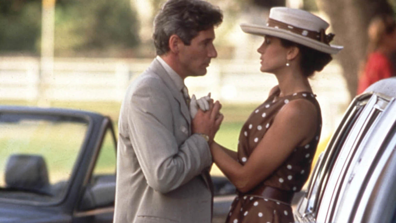 PRETTY WOMAN [US 1990] RICHARD GERE, JULIA ROBERTS PRETTY WOMAN [US 1990]  RICHARD GERE, JULIA ROBERTS     Date: 1990 (Mary Evans Picture Library) | Nur für redaktionelle Verwendung., Keine Weitergabe an Wiederverkäufer.