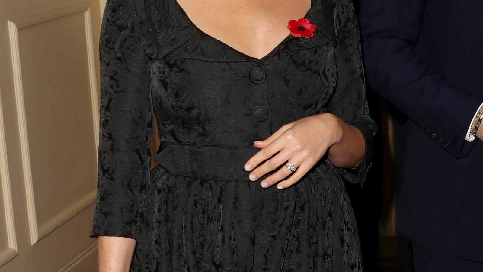 "Herzogin Meghan beim ""Festival of Remembrance"" 2019 in der Royal Albert Hall in London."