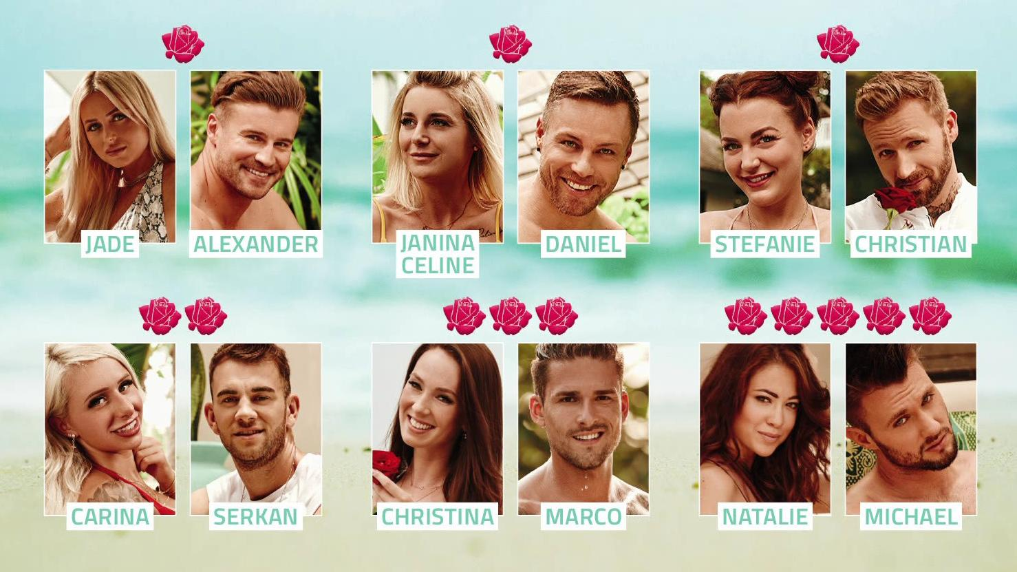 Bachelor In Paradise Paare