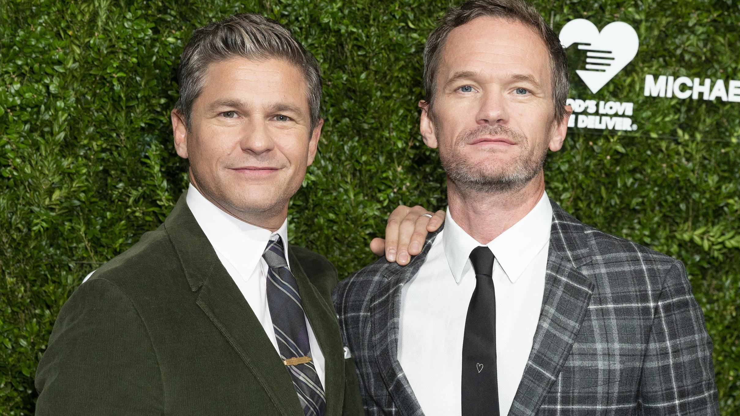 "David Burtka und Neil Patrick Harris bei den ""13th Annual Golden Heart Awards"" im Oktober 2019."