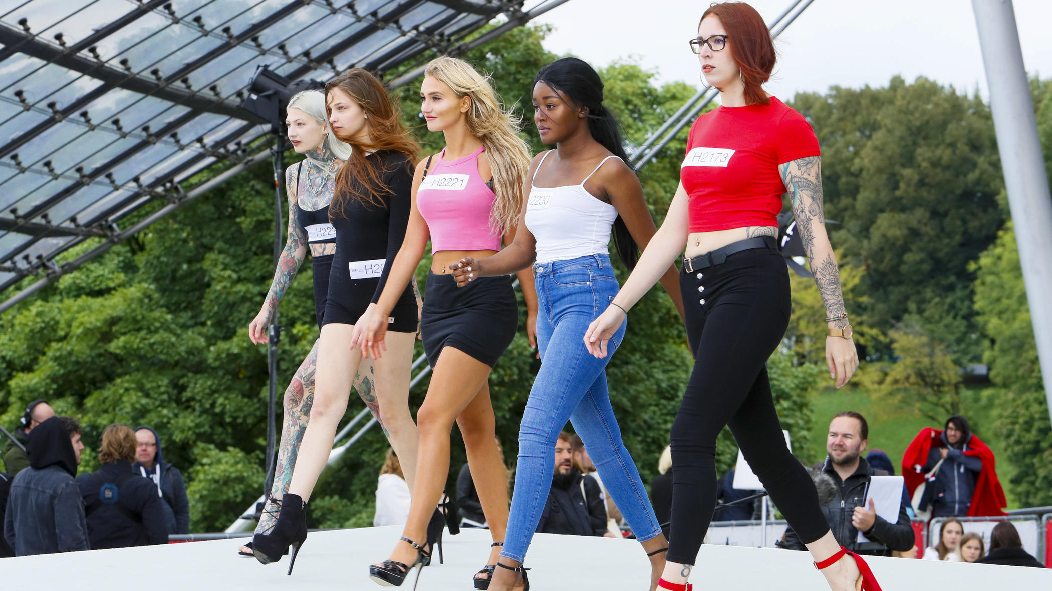 Germanys Next Topmodel Bombenalarm