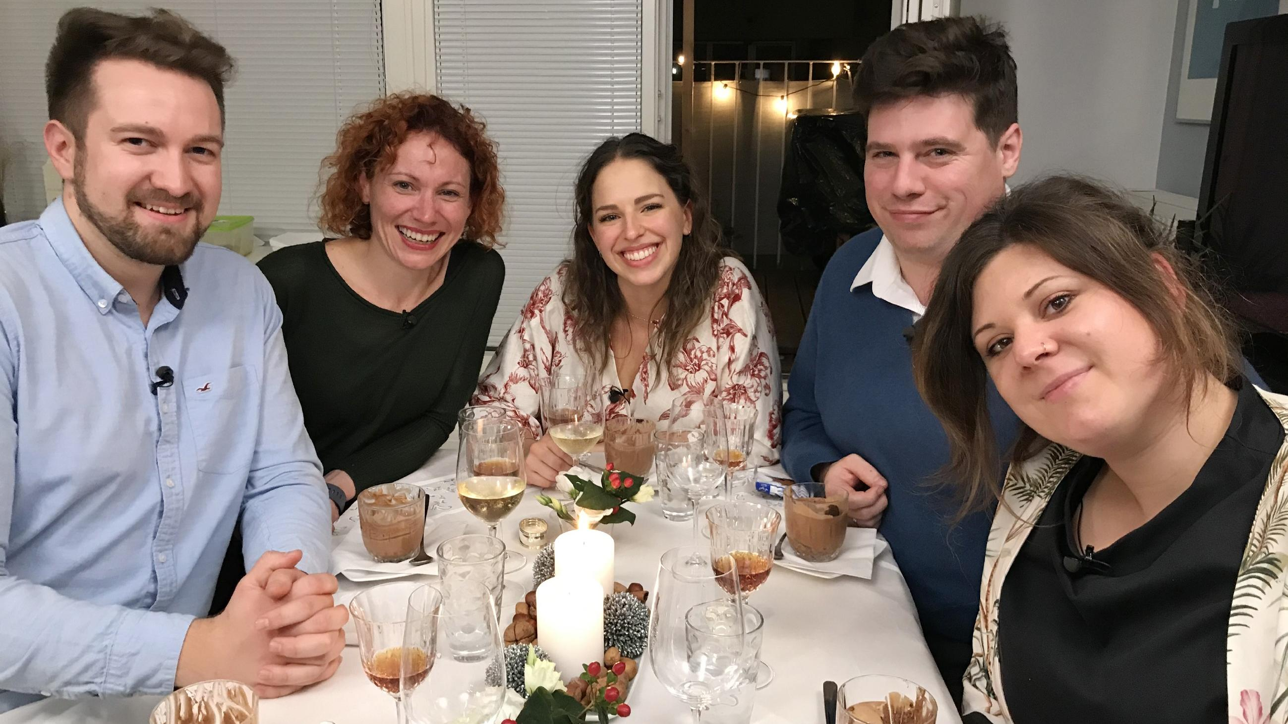 Perfektes Dinner Teilnehmer