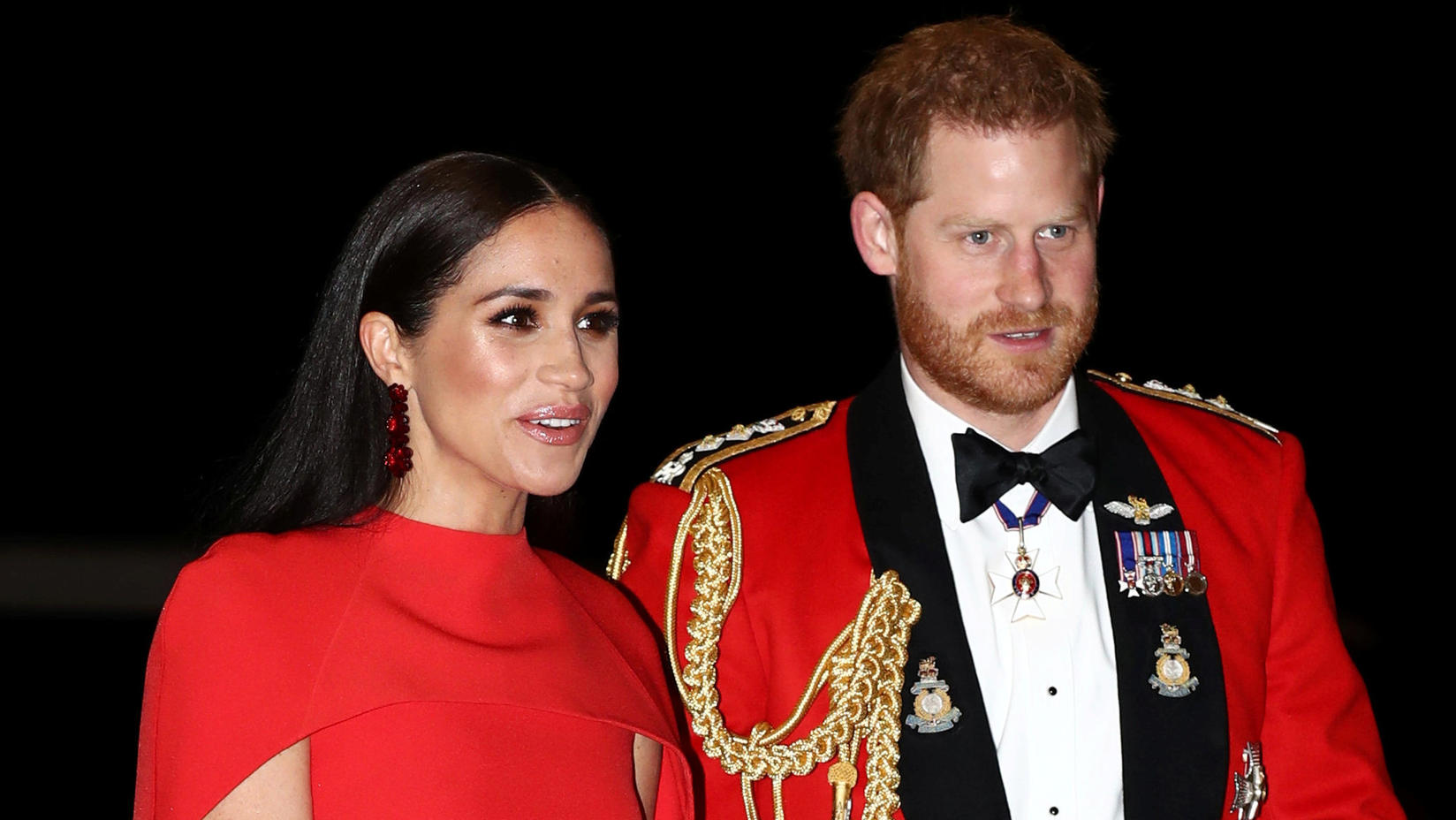 "Meghan und Harry im März 2020 beim ""Mountbatten Festival Of Music"" in London."
