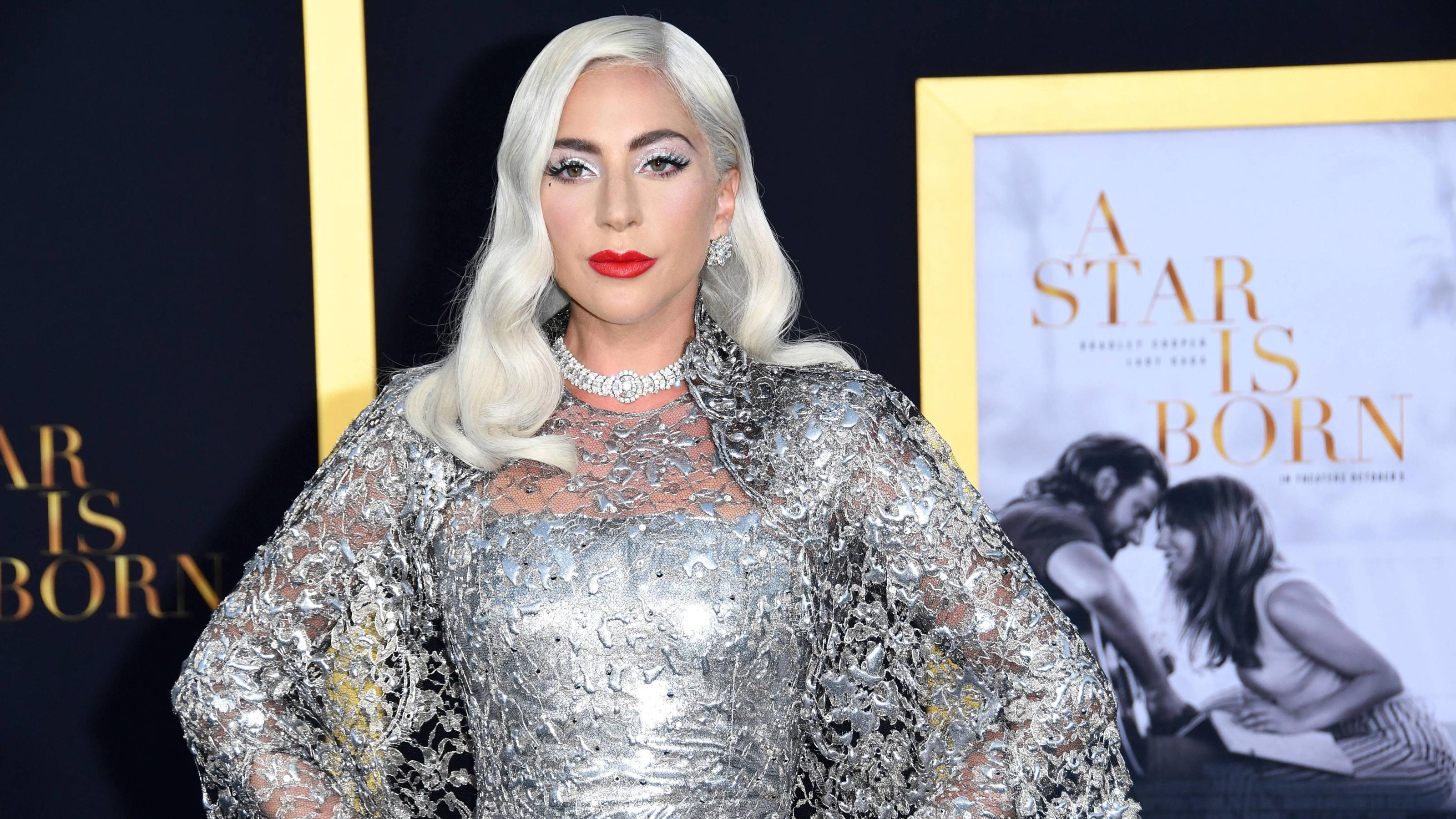 Entertainment Bilder des Tages 24 September 2018 - Los Angeles, California - Lady Gaga. A Star is Born Los Angeles Premiere held at The Shrine Auditorium. Photo Credit: Birdie Thompson/AdMedia 230484 2018-09-24 CA Los Angeles Etats-Unis PUBLICATIONx
