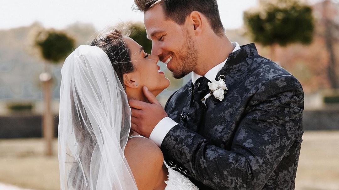Angelina Heger Hochzeit