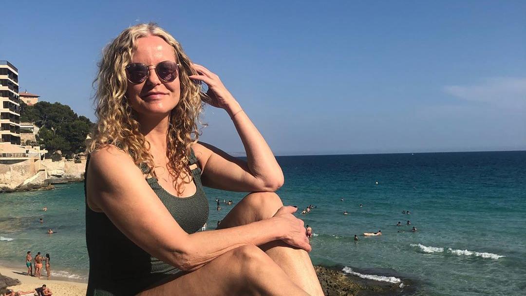 Katja Burkard: RTL-Moderatorin schickt sexy Urlaubsgrüße