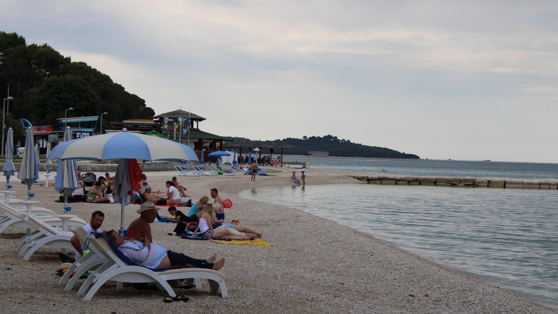 Kroatien Strand Corona