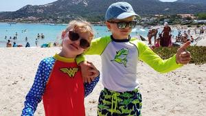 Mini-Royals als coole Beachhelden