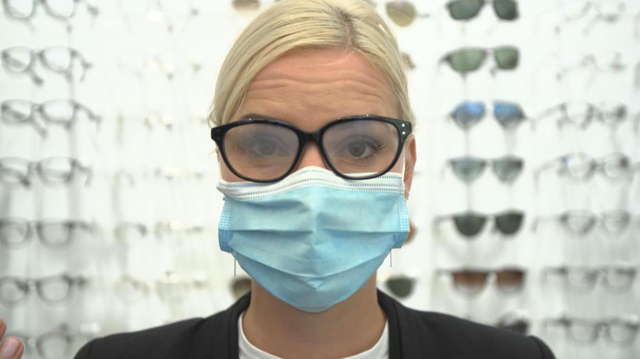Masken Brillen Beschlagen