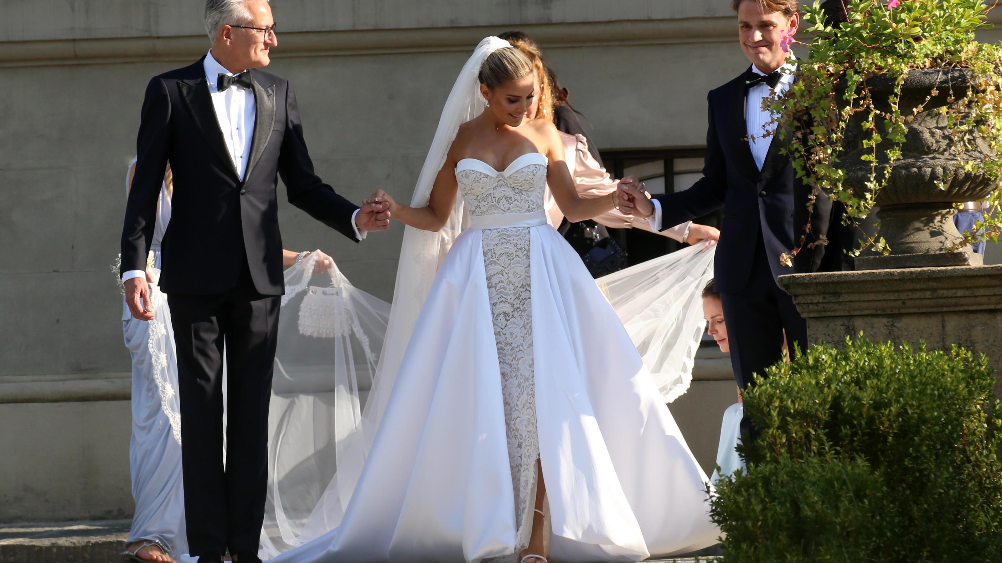 Sylvie Meis: Dieses Traumkleid trug sie bei der Hochzeit mit