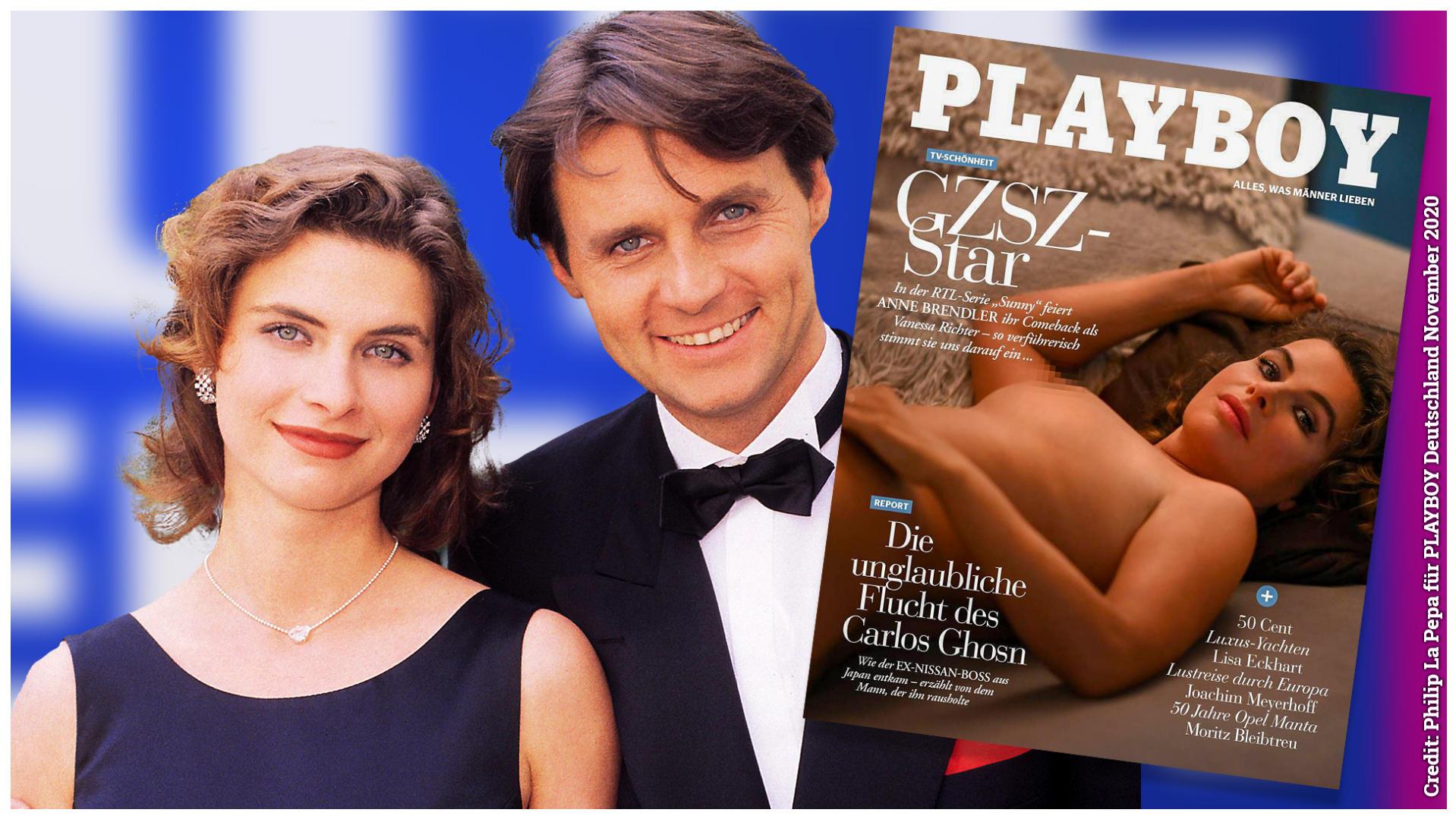 GZSZ-Star Anne Brendler nackt im PLAYBOY   Promivipnews.com