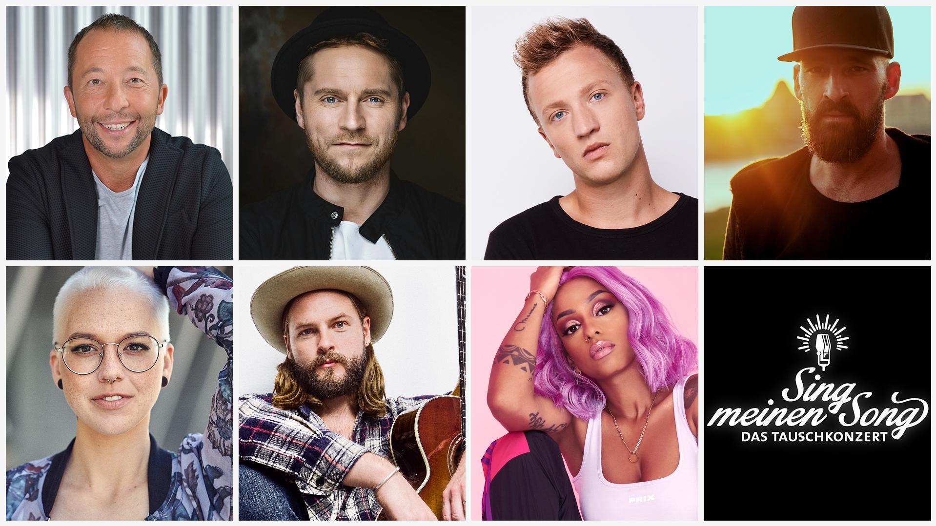 Teilnehmer Sing Meinen Song 2021