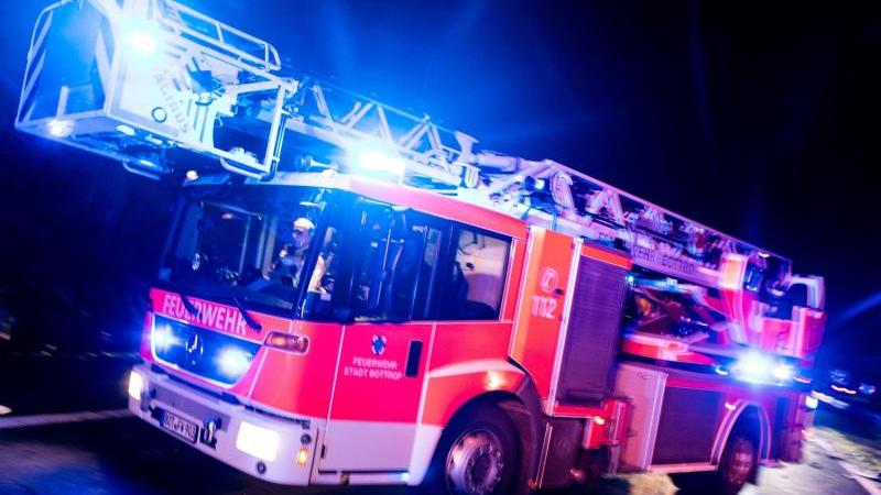 Lagerhalle in Arnstadt in Flammen aufgegangen