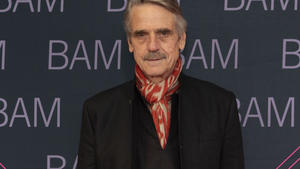 Jeremy Irons: An Bord des 'Gucci'-Films