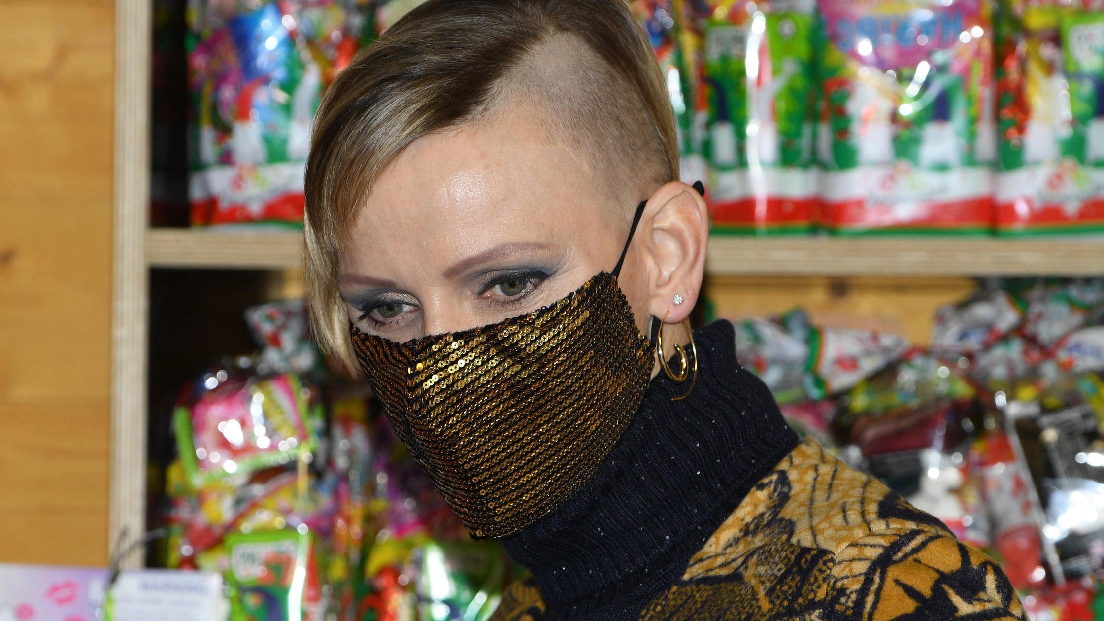 Charlene Neue Frisur
