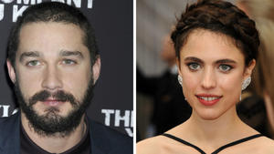 Shia LaBeouf & Margaret Qualley: Aus!