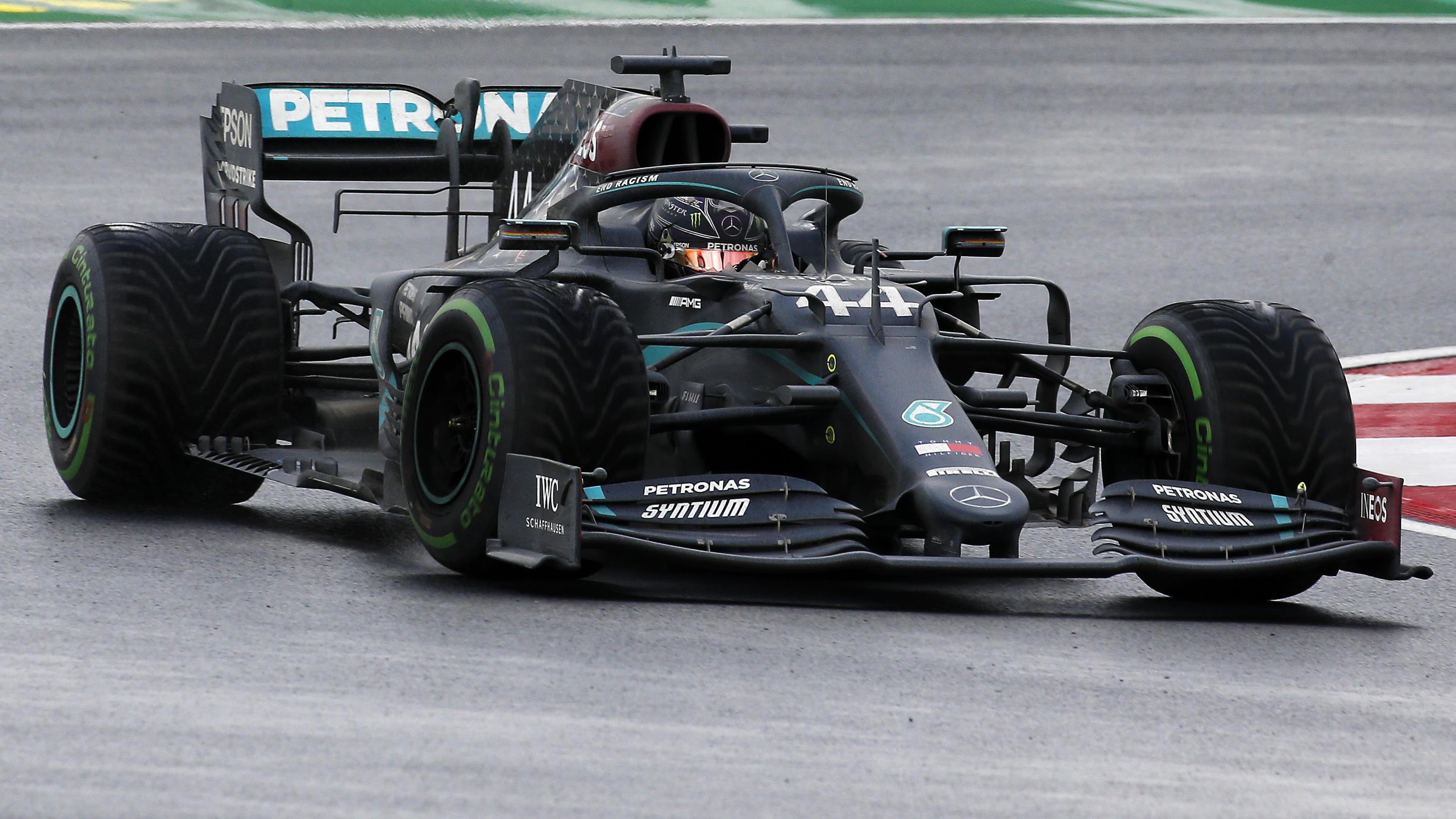 Formel 1 Mercedes Fahrer 2021