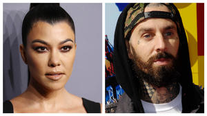 Ja, Kourtney Kardashian & Travis Barker turteln!