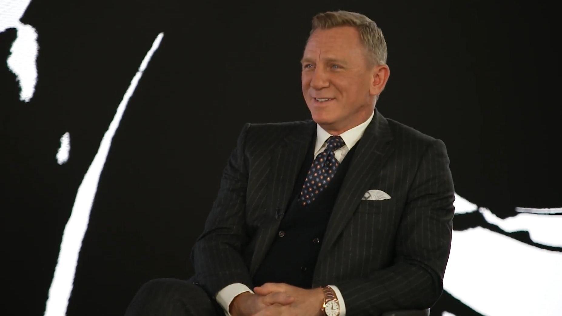 Daniel Craig im Bond-Interview mit Frauke Ludowig über die ...