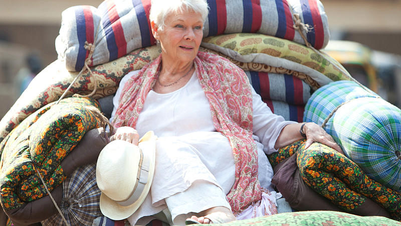 Judi Dench in 'The Best Exotic Marigold Hotel'