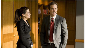 Sandra Bullock und Ryan Reynolds in