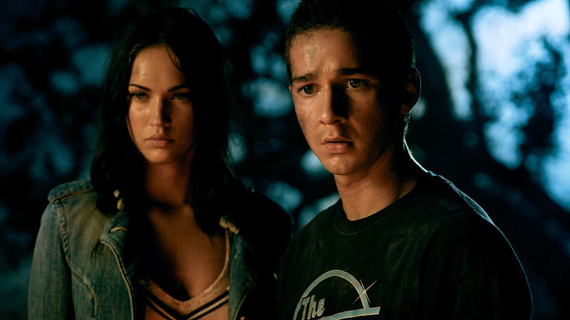 Megan Fox und Shia LaBeouf in 'Transformers'