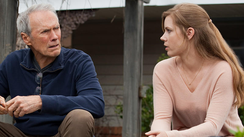 Clint Eastwood und Amy Adams