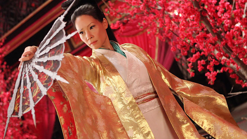 Lucy Liu in 'The Man With The Iron Fists'