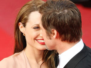 Brangelina in love!