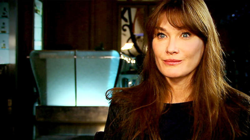 Carla Bruni im Interview