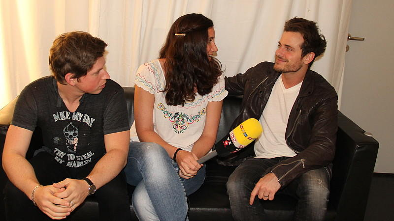 Kings oof Leon Matthew und Jared im Interview