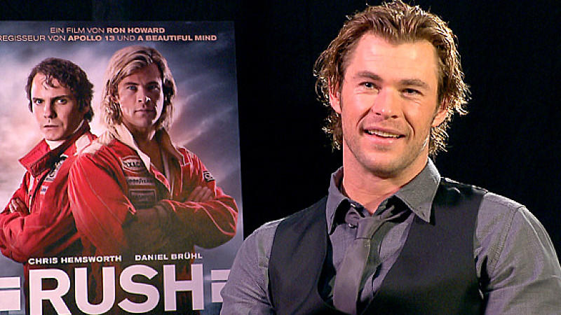 Chris Hemsworth im exklusiven 'Rush'-Interview