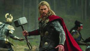 Muskelprotz Chris Hemsworth als Thor