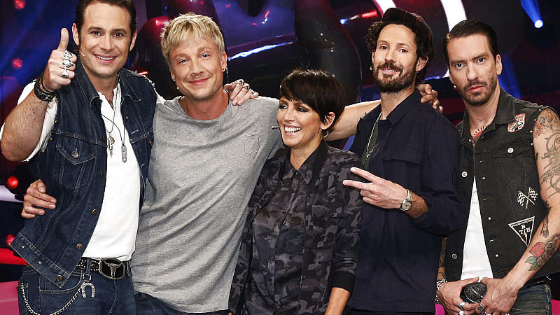 Die Jury von 'The Voice of Germany'