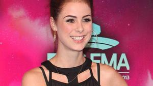 Mit Lena Meyer-Landrut backstage