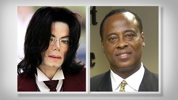 Michael Jackson und Conrad Murray