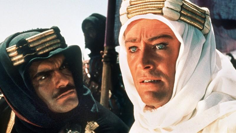Peter O'Toole in 'Lawrence von Arabien'
