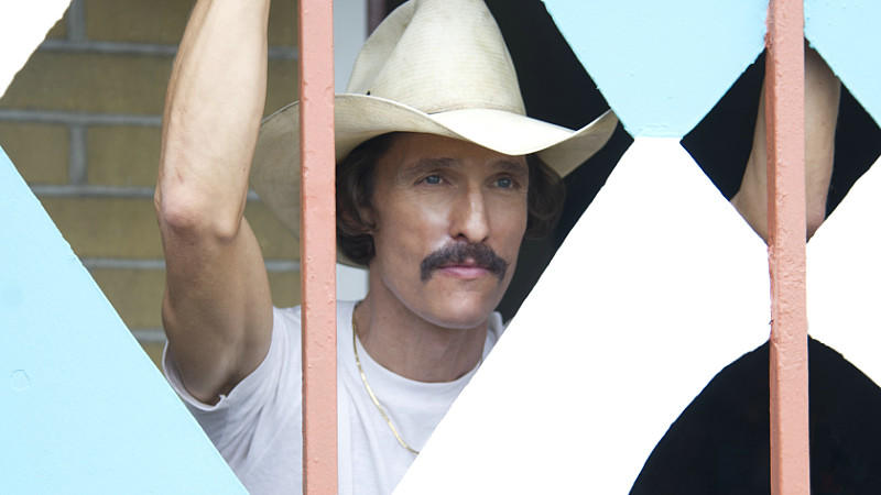 Filmkritik zu 'Dallas Buyers Club' mit Matthew McConaughey.