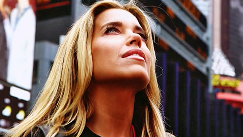 Sylvie Meis in New York