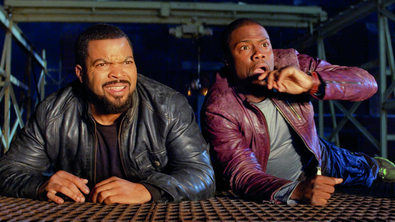 Ice Cube und Kevin Hart in 'Ride Along'