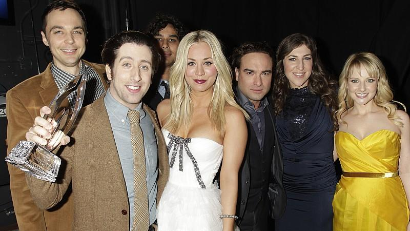 Der Cast von 'The Big Bang Theory'