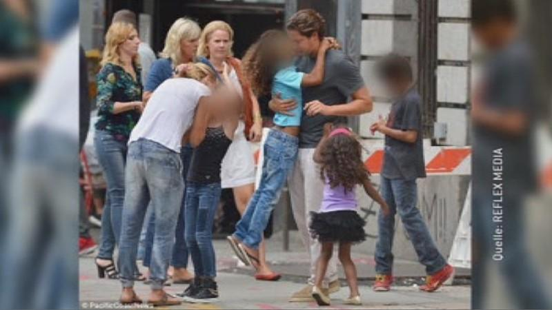 Heidi Klum Vito Schnabel Kommt Gut Mit Klum Kids Aus