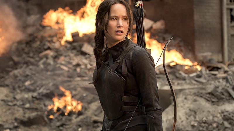 Die Tribute Von Panem Mockingjay Teil 2 Jennifer Lawrence Zieht