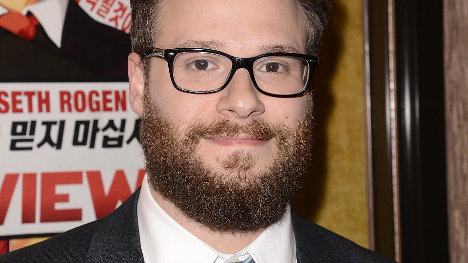 Seth Rogen bei der Premiere von 'The Interview' in L.A.