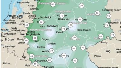 Schneeprognose Deutschland